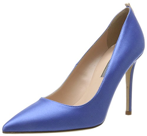 Fawn, Escarpins Femme, Bleu (Azzurro Blue Suede), 35.5 EUSJP by Sarah Jessica Parker