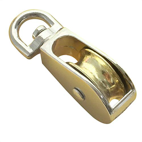 Ben-gi 58mm Zink-Legierung Riemenscheibennut Swivel Einzel Pulley Sheave Rigging Metall-Lift Hoist Seil hängend Heberads - Swivel Pulley
