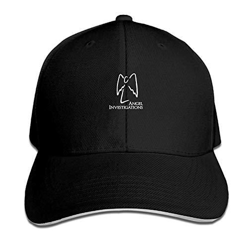 LUXNG Snapback Cap Angel Investigations Herren Baseball Caps Unisex Sportswear Sandwich Peak Cap
