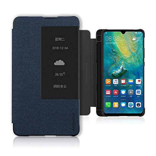 Huawei Mate 20X (5G) Custodia, PC + PU Leather Case con M-Pen Slot, Shockproof Full Body Protection...