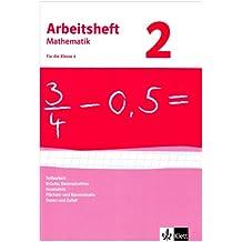 Arbeitshefte Mathematik - Neubearbeitung / Teilbarkeit, Brüche, Dezimalzahlen, Geometrie, Flächen- und Rauminhalte, Daten und Zufall: Arbeitsheft plus Lösungsheft