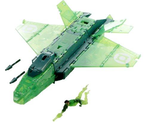 Green Lantern t9178Figur Zubehör Ring gestrahlt Jet