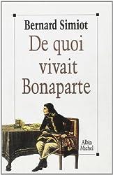 De quoi vivait Bonaparte