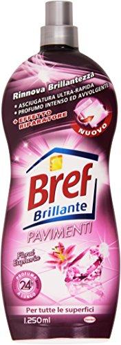 Bref - Brilante Pavimenti, Profumo Floral Euforia, Per tute le Superfici - 1250 ml