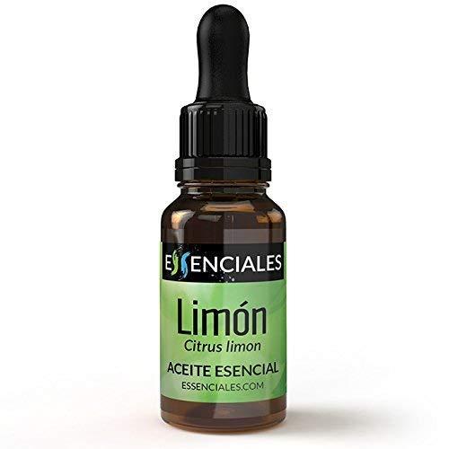 Essenciales - Aceite Esencial de Limón, 100% Puro, 10 ml | Aceite Esencial Citrus Limon