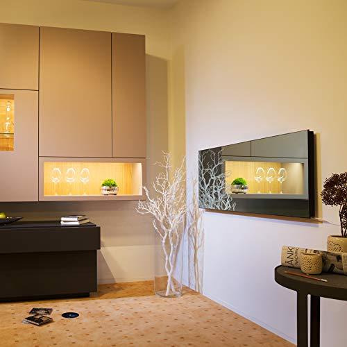 TecTake Spiegel Infrarotheizung Spiegelheizung ESG Glas Elektroheizung Infrarot Bild 2*