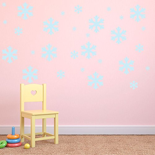 supertogether-jumbo-cold-blue-snow-flakes-wall-stickers-set-of-36