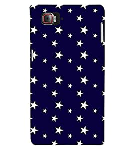 WHITE STARS ON A BLUE BACKGROUND GALAXY PATTERN 3D Hard Polycarbonate Designer Back Case Cover for Lenovo Vibe Z2 Pro K920