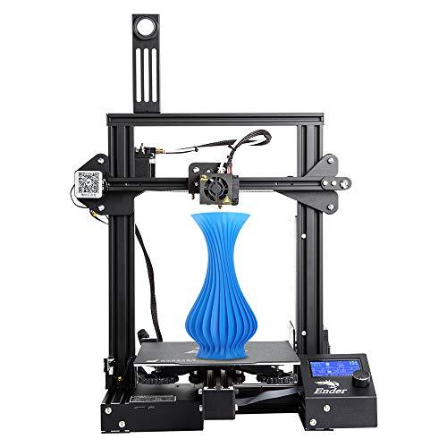 Comgrow Creality 3D Ender-3 Pro 3D-Drucker mit Magnetischem Heißem Bettaufkleber & UL-zertifiziertes Netzteil