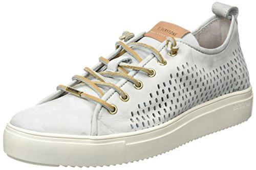 Blackstone Damen PL87 Sneaker, Grau (Limestone), 39 EU