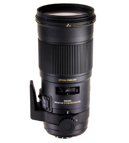 Sigma Obiettivo 180mm-F/2.8-AF EX APO MACRO DG OS HSM, attacco Canon
