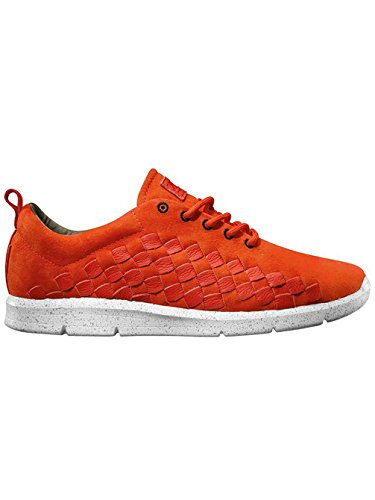 Vans Herren Tesella Sneakers (hypersat) orange/white
