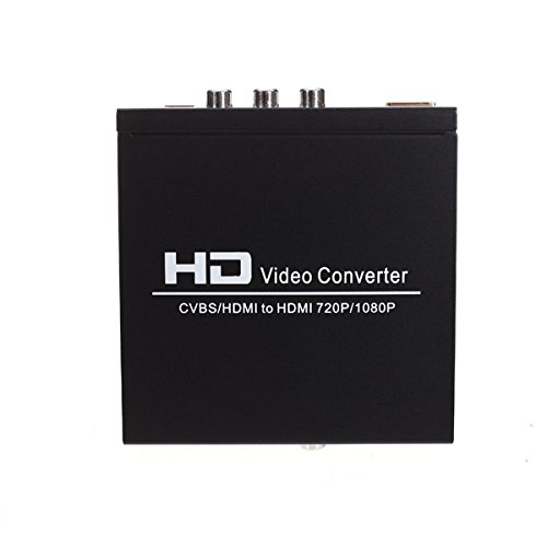 Neue HD CVBS/AV NTSC/PAL zu HDMI 720 P/1080 P HD Video Konverter Wii PS3 PSP