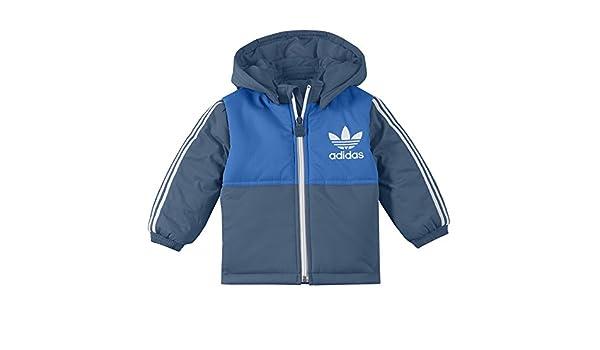 58f136e215597 I PADDED JACKET - Blouson Bébé Fille Adidas - 6 9M  Amazon.co.uk  Clothing