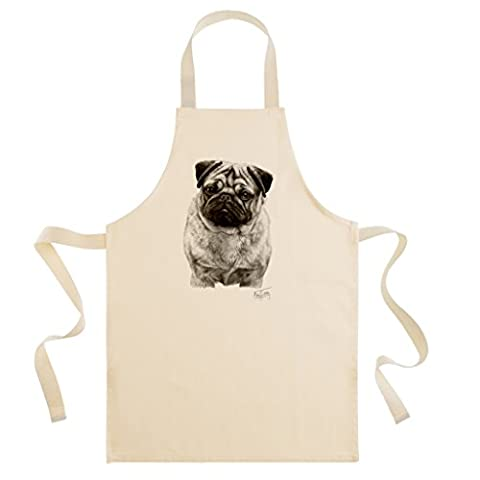 Mike Sibley Pug Cotton Drill Apron