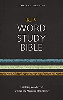 KJV, Word Study Bible, Ebook, Red Letter Edition: 1,700 Key Words that Unlock the Meaning of the Bible di [Nelson, Thomas]