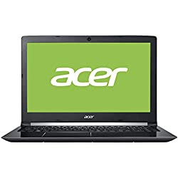"Acer Aspire A515-51G-710H - Ordenador Portátil de 15.6"" HD (Intel Core i7-7500U, 8 GB RAM, 1 TB HDD, Nvidia GT 940MX 2 GB, Windows 10); Negro - Teclado QWERTY Español"