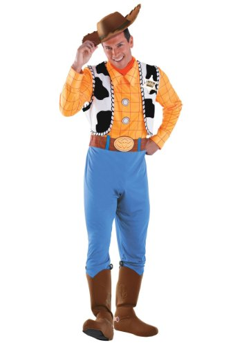 Disguise Adult Woody Fancy Dress Costume 2X-Large