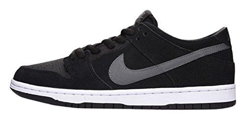 Nike Dunk Low Pro Iw, Chaussures De Skate Hommes Noir / Gris / Blanc - (noir / Lt Graphite-blanc)