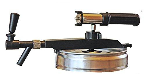 """Bierzapfgerät """"Profi Tap"""" für 5 Liter Partyfässer MIT CO2-Automatic UND Handpumpe"""