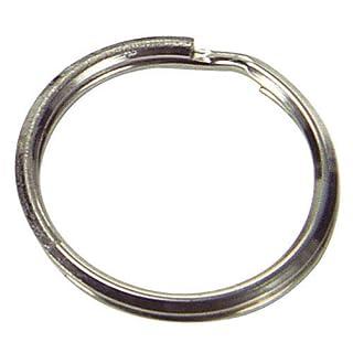 Aldes Key Ring 2.0 x 25 x 20 Nickel - Bag with 300 Pcs.