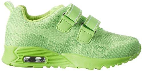 KangaROOS - Kanga S, Pantofole Unisex – Bambini Verde (Lime)