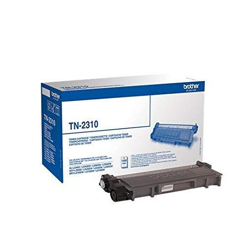 Brother TN2310 Toner Originale Capacità Standard, fino a 1200 Pagine, per Stampanti MFCL2700DW, MFCL2700DN, MFCL2720DW, MFCL2740DW, DCPL2500D, HLL2300D, HLL2340DW, HLL2360DN, HLL2365DW, Nero