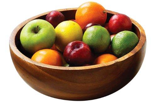 Premier Housewares Corbeille à fruit/saladier Bois noir d'Haïti