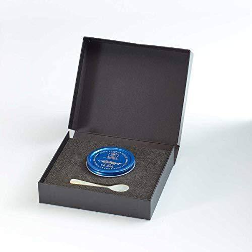 Caviale beluga stile russo 250g confezione regalo (caviale di storione)