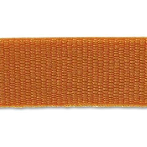 Cinta grano grueso elástica 9 mm Naranja x 1m