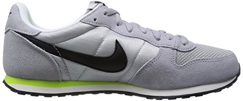 Nike Genicco, Baskets mode mixte adulte Gris (Wolf Grey/Black/Volt/White)