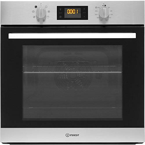 Indesit IFW6544HIX A Rated Built-In Electric Single Oven - White