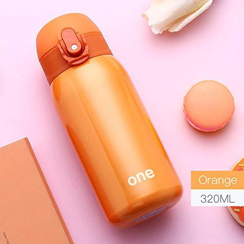 Yylikehome 320ml tazza termica colorata tazza da vuoto thermos in acciaio inossidabile 304 bottiglia da bambino bottiglia termica per acqua tazza termica da bambino isolata