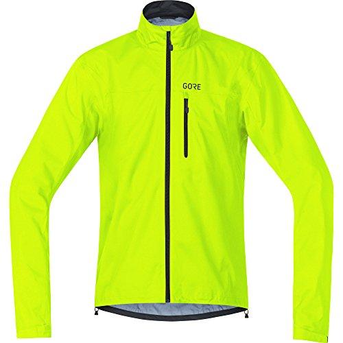 Gore Wear Chaqueta Impermeable de Ciclismo para Hombre, XXL, Amarillo neón, 100034