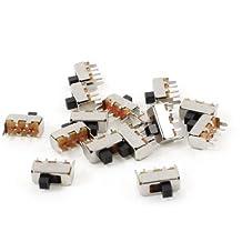 Sourcingmap  - 5a / 110v 3a / 220vca cortos bisagra palanca del actuador micro interruptor en miniatura de 15 pc