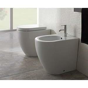 Ceramica Globo Concept.Sanitari Filo Parete Ceramica Globo Concept 49 Wc Bidet