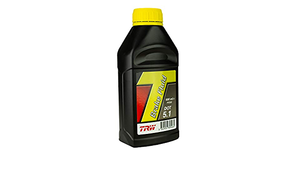 2x Trw Bremsflüssigkeit Brake Fluid Dot 5 1 500 Ml Pfb550 Auto