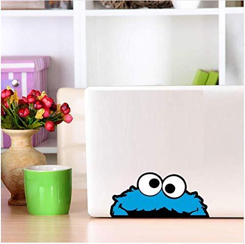 Newberli Peeping Cookie Monster Volle Farbe Vinyl Wandaufkleber Bunte Art Auto Autoaufkleber Oder Laptop Aufkleber Selbstklebende Tapete