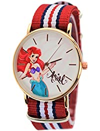 Disney Exclusive Ariel Watch Rose Gold-Tone XL Dial with Multi-Color Band.Limited Edition of 2000.