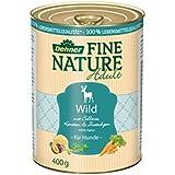 Dehner Fine Nature Hundefutter, Adult Wild, Probiergröße, 400 g