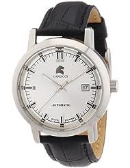 Carucci Watches Herren-Armbanduhr XL Analog Automatik Edelstahl CA2195SL