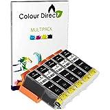 5 Gros Noir ( 2621 ) Colour Direct Cartouches d'encre Remplacement Pour Epson Expression Premium XP-510 XP-600 XP-605 XP-610 XP-615 XP-620 XP-625 XP-700 XP-710 XP-720 XP-800 XP-810 XP-820 Imprimantes.