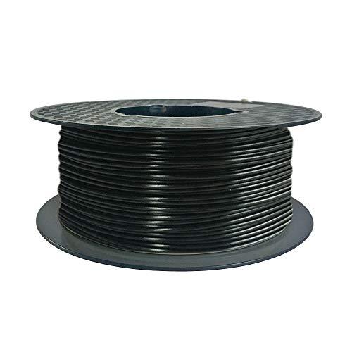 Uniqstore PC 3D 1.75 Drucker Filament mit hoher Zähigkeit und pralle Farben Polycarbonat Materialien Filament 3D Druckmaterialien Schwarz