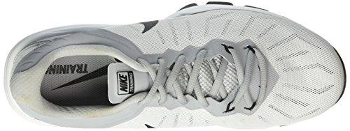 Turnschuhe Herren Max Full Weiß black Ride 100 wolf White Tr Nike Grey Silver Schwarz Air metallic fUBT1fwH