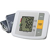 YIQ TensióMetro De Brazo - Voz Inteligente LCD Ajustable Brazalete del CorazóN Y El Detector De