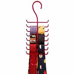 Premium Acrylic Tie & Belt Hanger - Pink