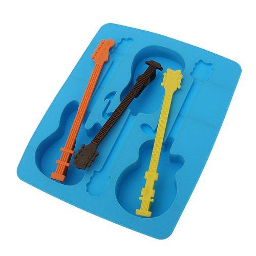 Silikon Eiswürfelform Form Eiswürfel f Eiswürfelbereiter Eiswürfelschale Gitarre