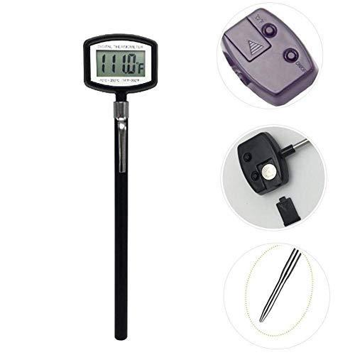 wovemster Kitchen Food Thermometer, Milchkaffee-Thermometer-Sonde-Öltemperatur-elektronischer Stift-Test-Wasserthermometer