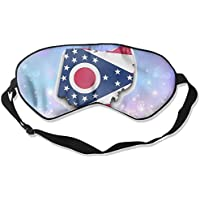 Ohio State Flag 99% Eyeshade Blinders Sleeping Eye Patch Eye Mask Blindfold For Travel Insomnia Meditation preisvergleich bei billige-tabletten.eu