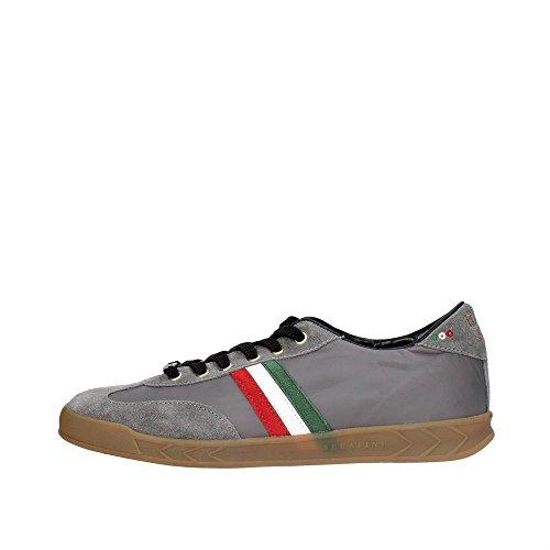 Serafini CAMP.70 Sneakers Uomo Pelle Grigio Grigio 42